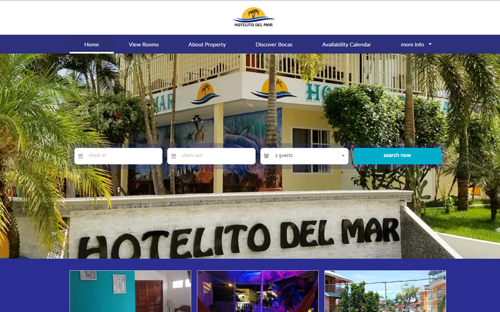 Free boutique hotel website themes